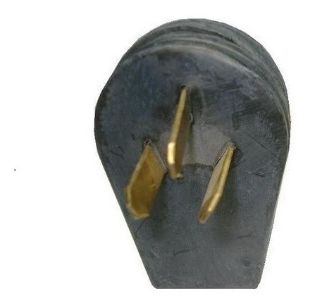 Enintel- Enchufe Macho Trifásico 50a 120/250v 3 Polo De Goma