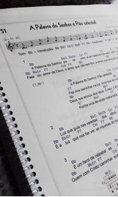 Hinário Ccb N°5 Cifrado Para Violão - Tom Original -
