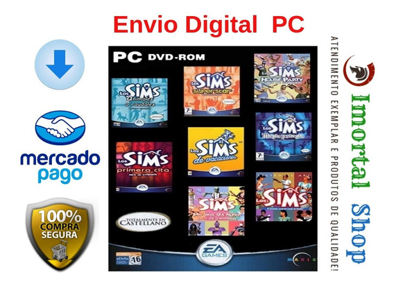 The Sims 1 Completo Envio Online Pc