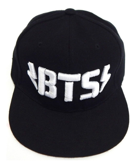 Bts Gorra Bordada 3d Kpop Coreano Rayos Rap Monster Broche