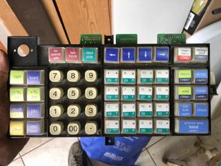 Refacción De Teclado Caja Registradora Royal Alpha 710 Ml