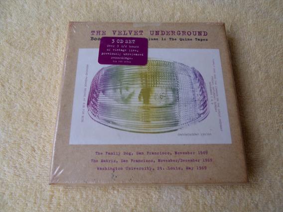 The Velvet Underground - Cd (box Com 3 Cds) Novo Lacrado