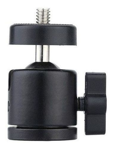 Cabeça Tripé Câmera Celular Ring Light Suporte Articulado