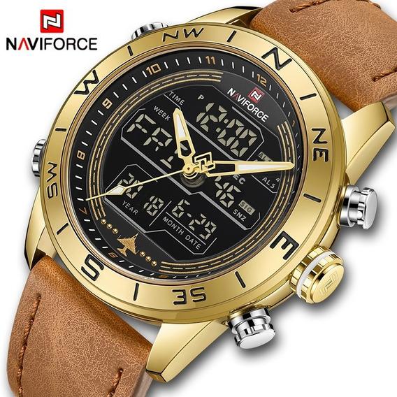Relógio Naviforce Importado Original Modelo 9144