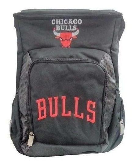 Mochila Chicago Bulls Preta - 37183 Dermiwil