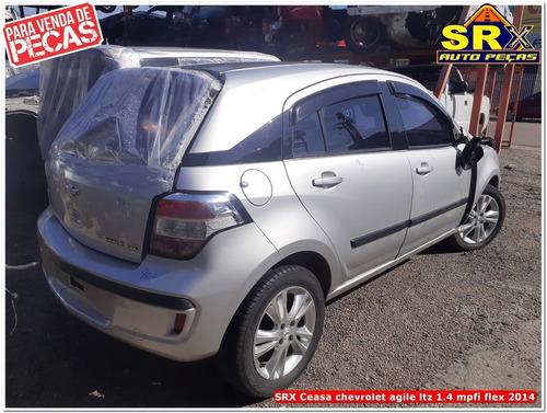 Imagem 1 de 8 de Sucata Chevrolet Agile Ltz 1.4 Mpfi Flex 2014 Peças