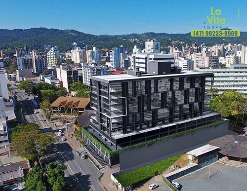 Imagem 1 de 2 de Sala Comercial Para Alugar, 46 M² Por R$ 3.000/mês - Stein Office - Centro - Blumenau/sc - Sa0124