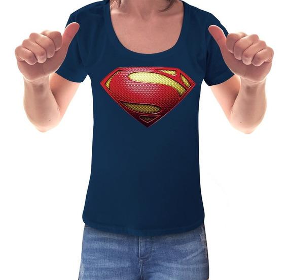 Remera Supergirl Superman Mujer Comic