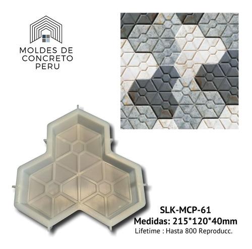 Moldes Para Pisos De Concreto Hexagonos Line