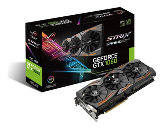 Asus Geforce Gtx 1060 6gb Rog Strix