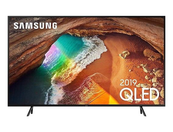 Tv Qled Samsung 55 55q60r Uhd 4k Smart, Pontos Quânticos