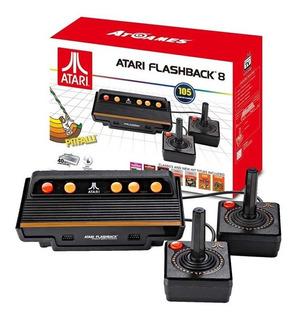 Atari Retro Flashback 8 Classic Game Consola 105 Juegos Av