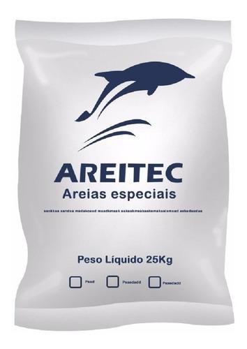 Areia Para Filtro De Piscinas Quartzo 25kg Areitec