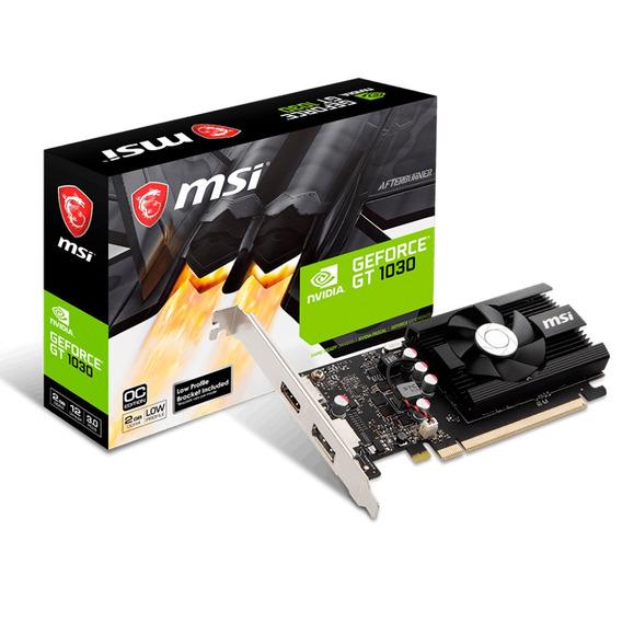 Placa Video Geforce Msi Gt 1030 2gb Gddr4 Hdmi Dp Mexx 4