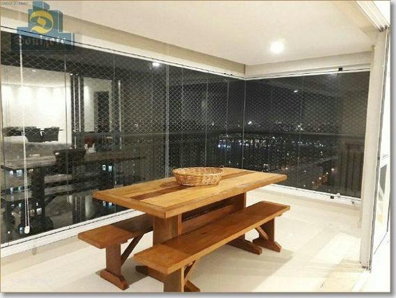 Apartamento Com 3 Dormitórios À Venda, 144 M² Por R$ 1.380.000 - Campestre - Santo André/sp - Ap0221