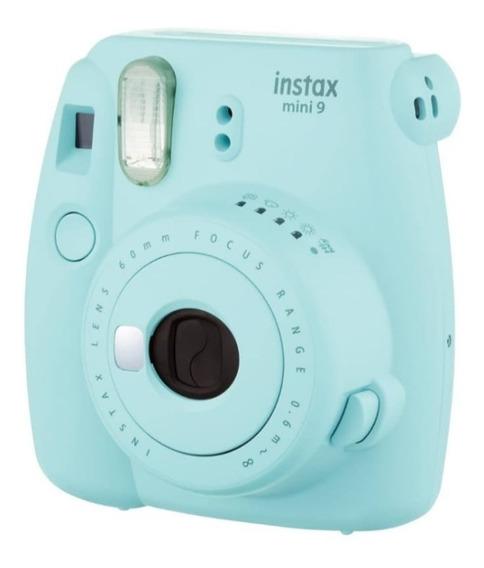 Instax Mini 9 Câmera Instantânea Ice Blue/ Azul Água
