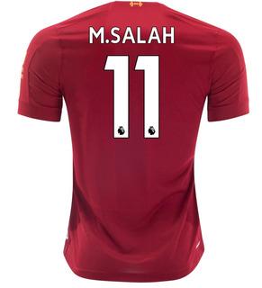 Camisa Liverpool Oficial Personalizada Pronta Entrega