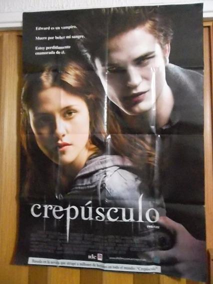 Poster, Libro De La Pelicula + Dvd Crepusculo Orig Exc Est