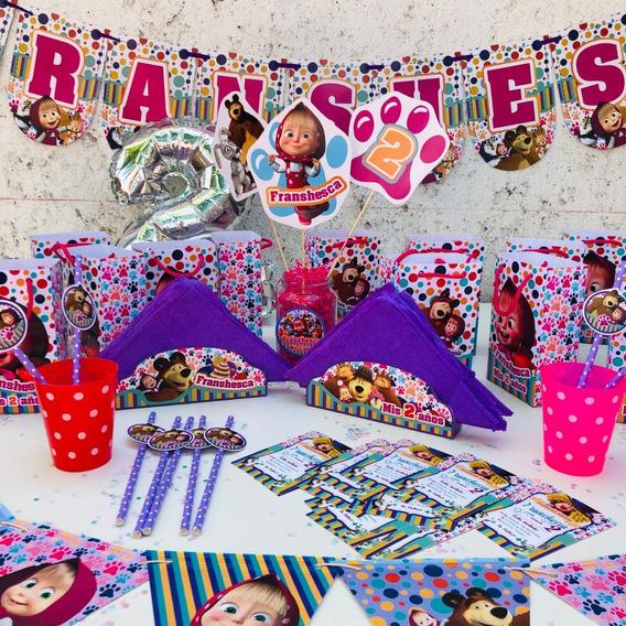 Promo Cotillon Infantil Personalizado P/30 Niños Completo