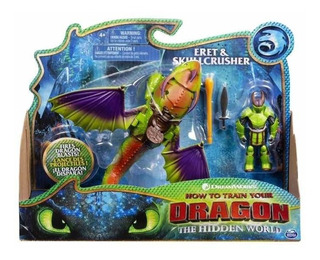 Cómo Entrenar A Tu Dragón Figura Y Dragón Spin Master