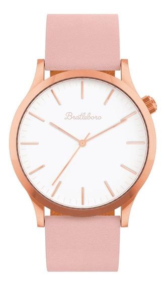 Reloj Muñeca Mujer Bratleboro - Rose Gold Peach Tayrona