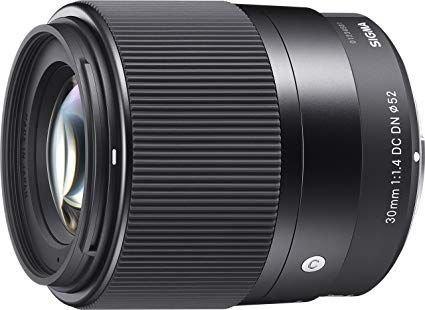 Lente Sigma 30mm F/1.4 Dc Dn Contemporary Para Sony + Nf