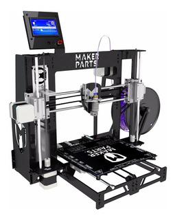 Kit Impresora V11.1 3d 100% Metal Makerparts Prusa + Pla