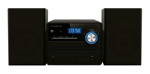 Radio Mini System Mp3 10w Bluetooth Cd Usb Com Controle