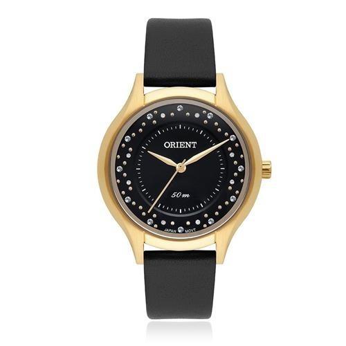 Relógio Orient Feminino Couro Fgsc0014 Original Nota Fiscal