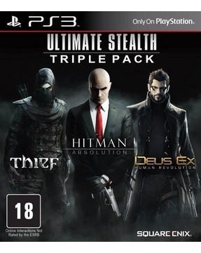 Ultimate Stealth Triple Ps3