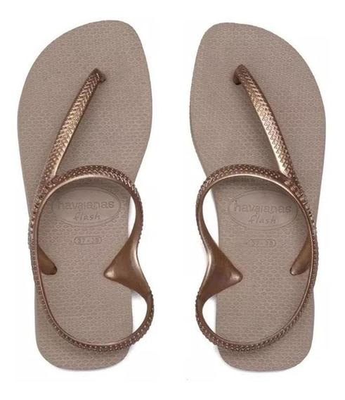 Havaianas Sandalias Mujer - Flash Urban Rose Gold