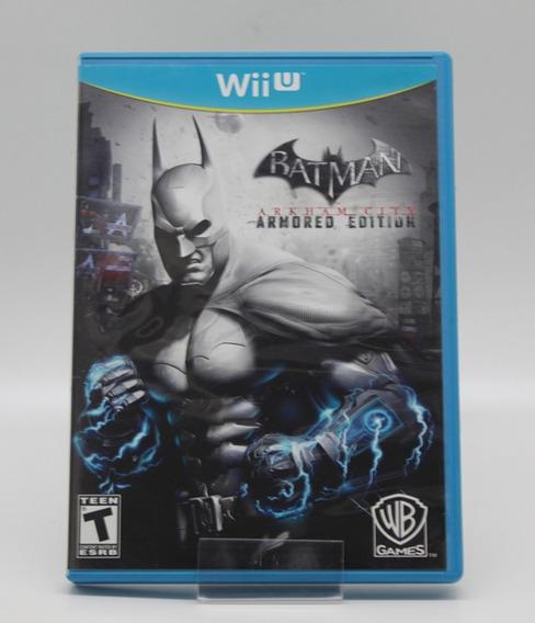 Batman Arkham City Armored Edition Nintendo Wii U Usado