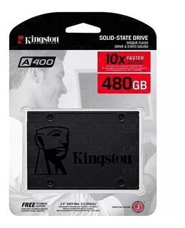 Disco Solido Kingston A400 480gb Ssd 2019 *sale!!