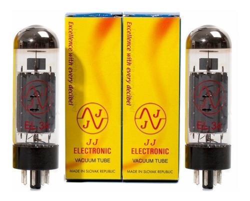 Par De Válvulas Jj Electronic El-34 El34 6ca7 Potencia Power