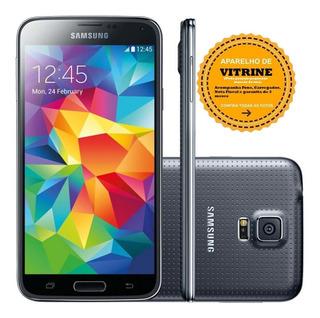 Samsung Galaxy S5 16gb G900 Vitrine C Garantia Nota Fiscal