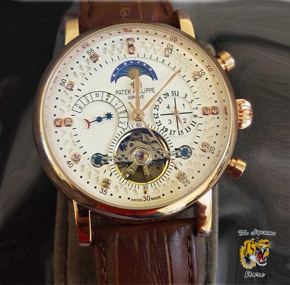 Reloj Patek Philippe Automatico Stock Fotos Reales Stock