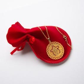 Colar Medalha De Santas Chagas