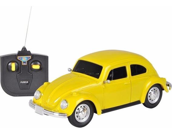 Carro De Controle Remoto Volkswagen Fusca 1:24