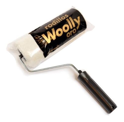 Imagen 1 de 6 de Rodillo Lana Woolly Oro Premium 22cm Pintumm