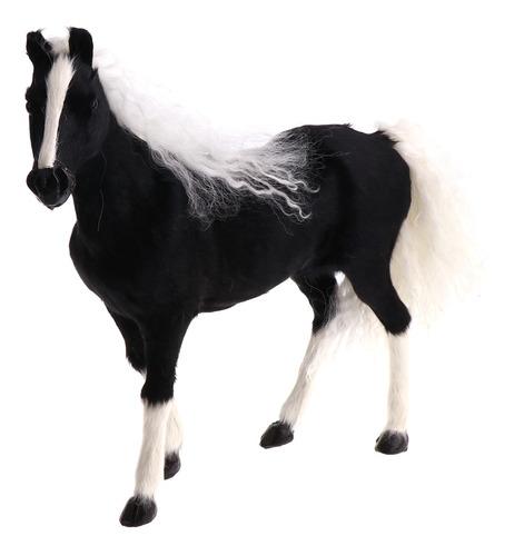 Imagen 1 de 6 de Juguetes Peluche De Modelo De Animal De Caballo Decoración