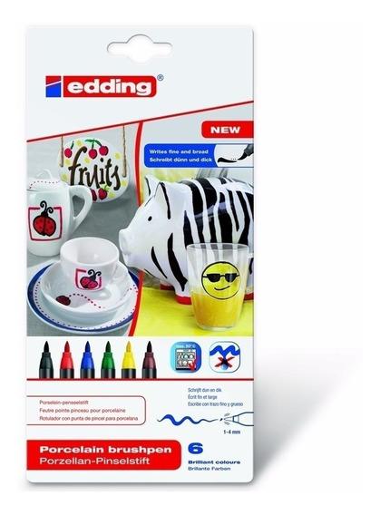 Marcador Edding 4200 Porcelana Surtido X6