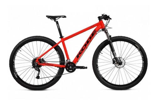 Bicicleta Aro 29 Kode Enduro 20v. Deore Hidráulica Vermelha