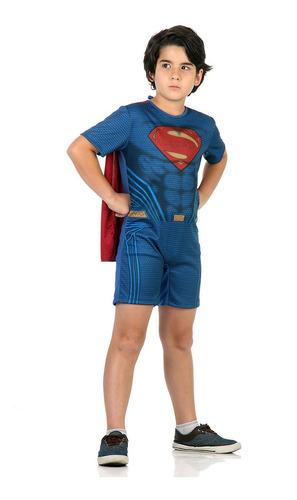 Imagem 1 de 1 de Fantasia Bm X Sm  Superman Pop