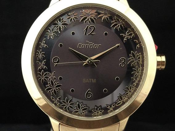 Relógio Condor Feminino Co2039bf/4f Ponta De Estoque