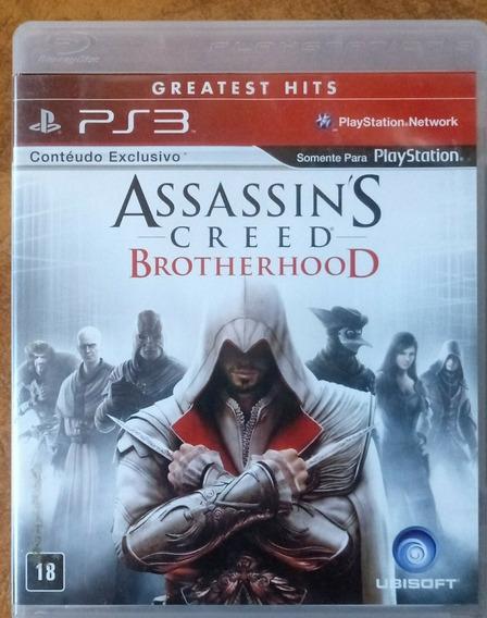 Ps3 Assassins Creed Brotherwood Usado Conservado