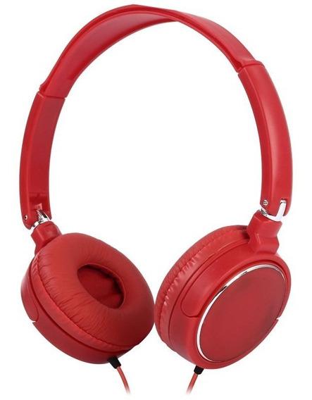 Fone De Ouvido Headphone Colorido Dobrável