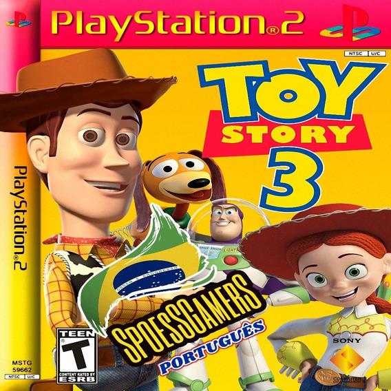 Toy Story Ps2 Português Pt-br Patch Desbloqueado