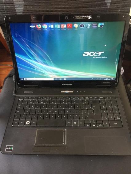 Notebook Acer E-machine 625 - Usado