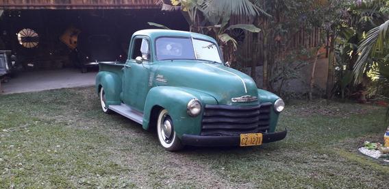 Pickup Chevrolet 1951 Boca De Sapo 3100 Motor Diesel