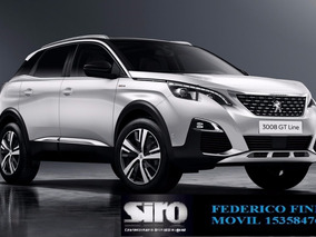 Peugeot 3008 Gt Line Hdi Tiptronic!!!!!! Ff